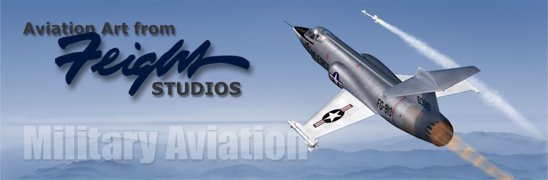 Military Aircraft Art from Feight Studios